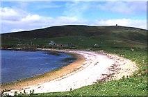 HU5340 : Nesti Voe Beach, Noss by Anne Burgess