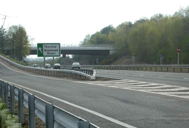 A3, Thursley junction
