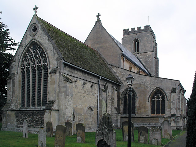 Trumpington church