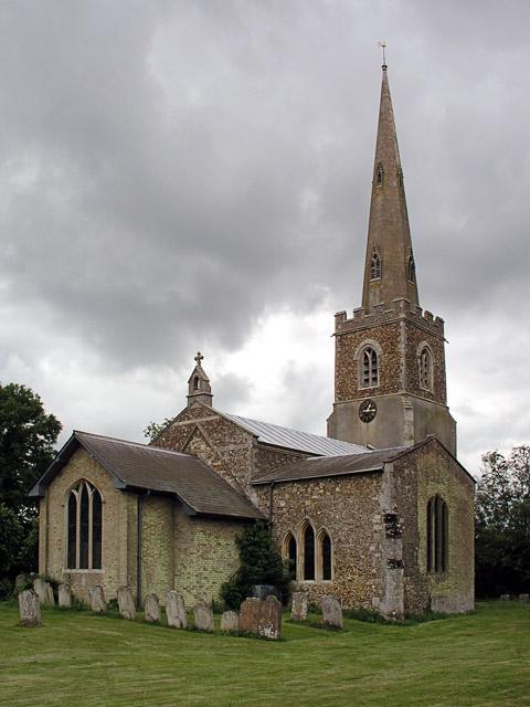 Eltisley church