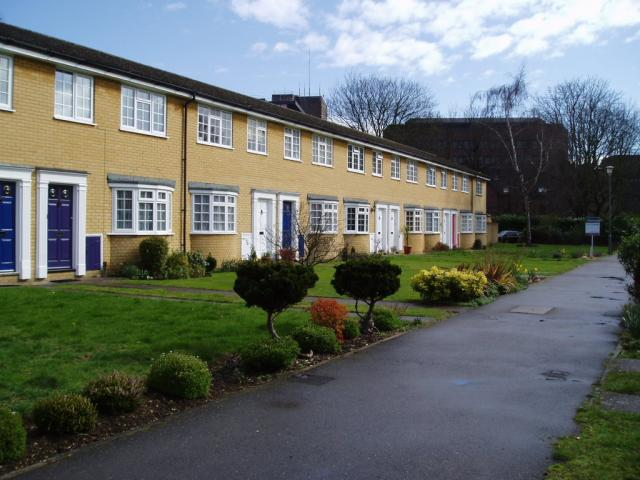 Houses on the Moormede Estate, Staines