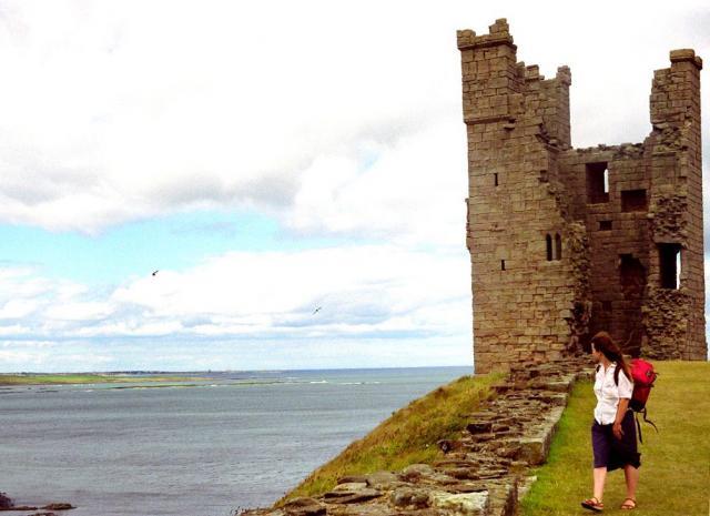 Dunstanburgh Castle and Embleton Bay