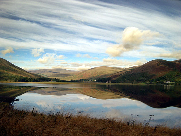 St. Mary's Loch from Bowerhope