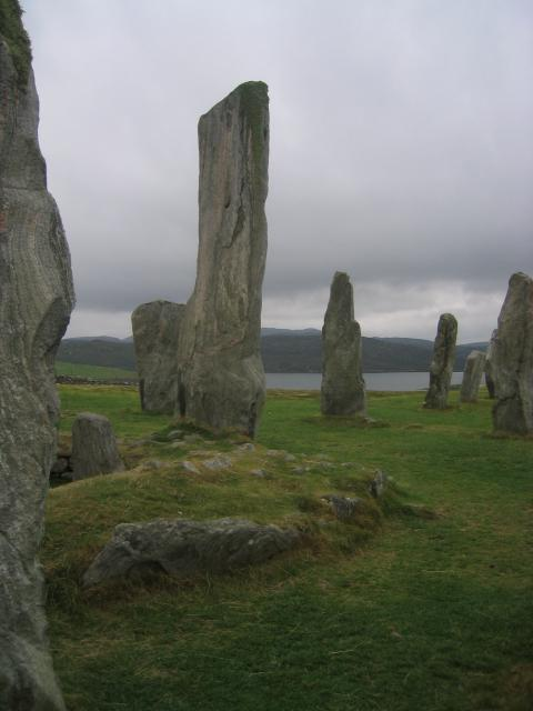 Calanais standing stones (different view)