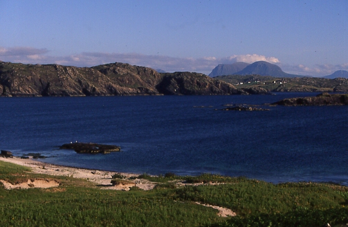 Quinag and Scourie from Handa