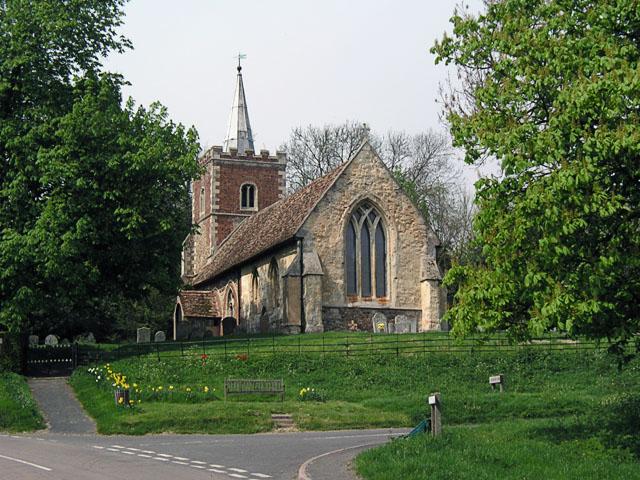 Arrington, St Nicholas from the E
