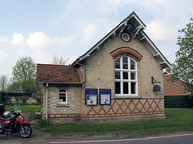 The old Church Hall in Wendy