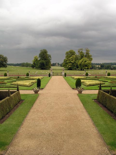 Looking N from Wimpole Hall
