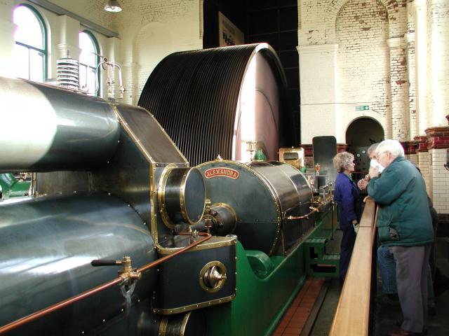 Ellenroad Mill engines