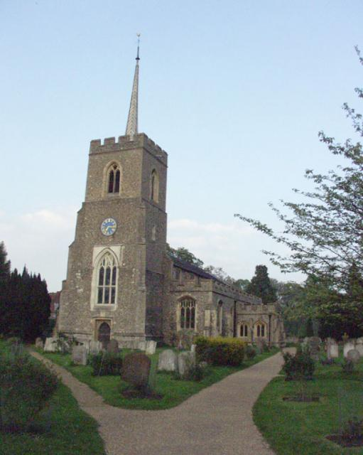 Much Hadham church