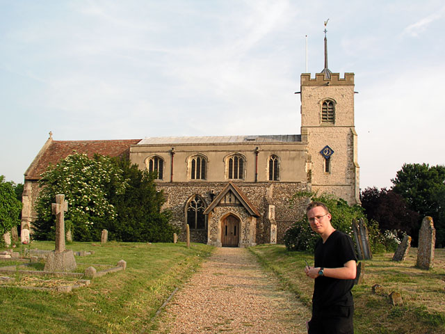 Foxton church