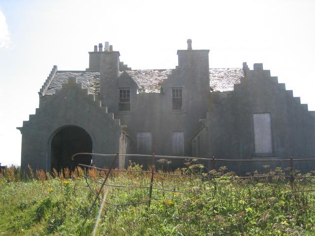 Erskine Beveridge's house on Bhalaigh