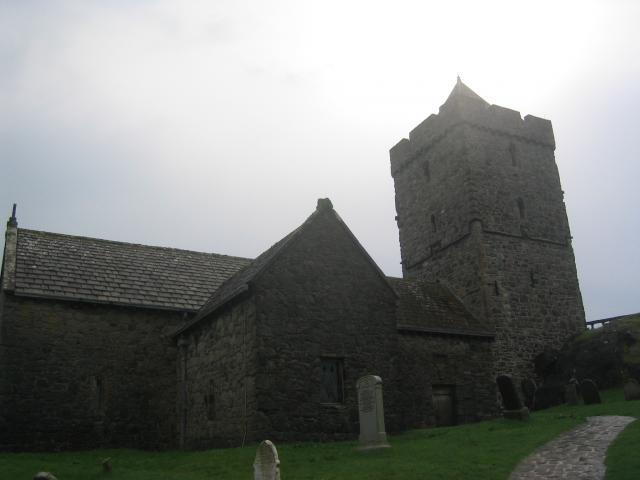 Tùr Chliamainn, Roghadal (St Clement's Church, Rodel)
