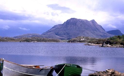 Boat Bay, Loch Sionascaig