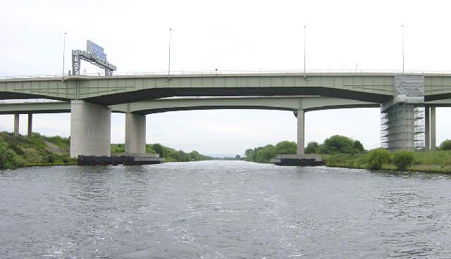 Thelwall Motorway Viaduct