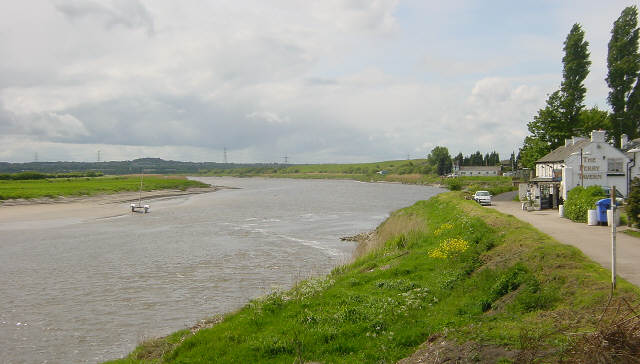 Fiddlers Ferry, River Mersey
