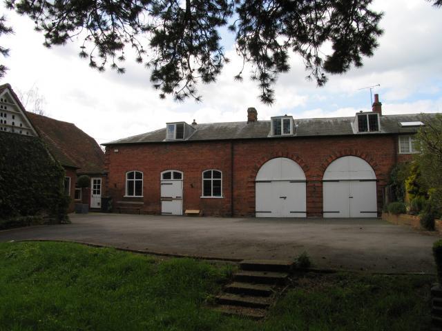 The Tithe Barn Entrance: Tidmarsh