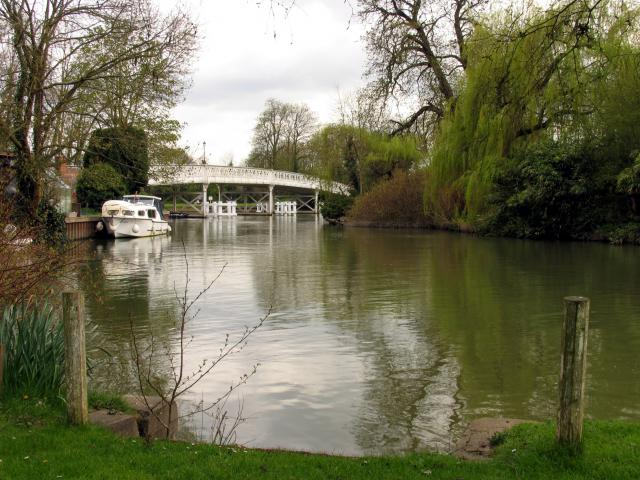 Whitchurch-on-Thames Toll Bridge: West View