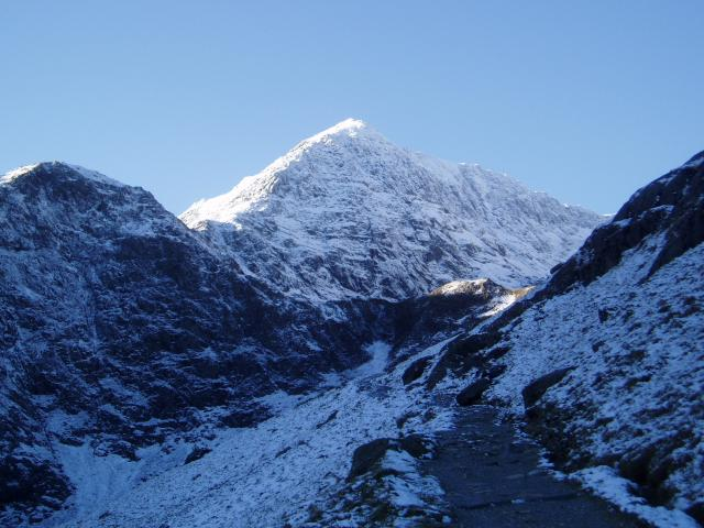 Snowdon from the Miners track
