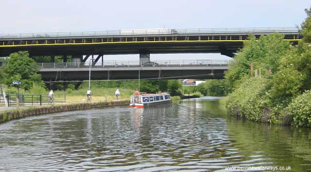 Tinsley Viaduct, near Sheffield