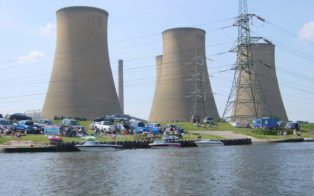 High Marnham Power Station, River Trent
