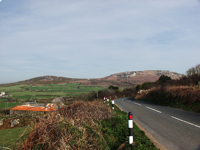 Rosewall Hill from Trendrine