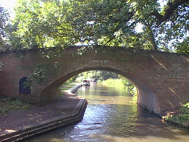 Tamhorn Park Bridge, Coventry Canal