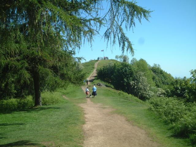 Thirdsland and Jubilee Hill on the Malvern Hills