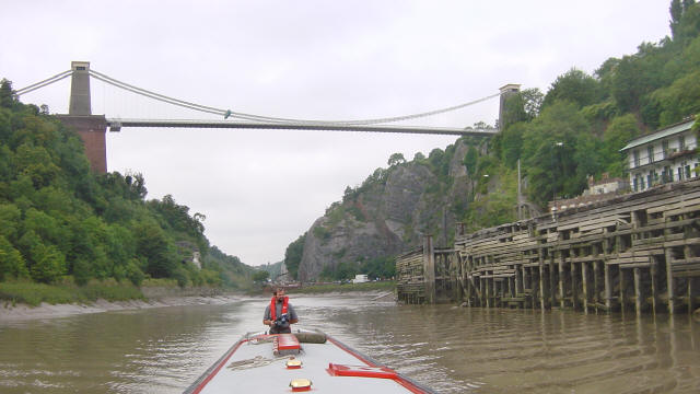 Clifton Suspension Bridge from Hotwells