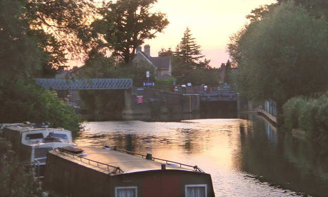 Osney Lock, River Thames, Oxford