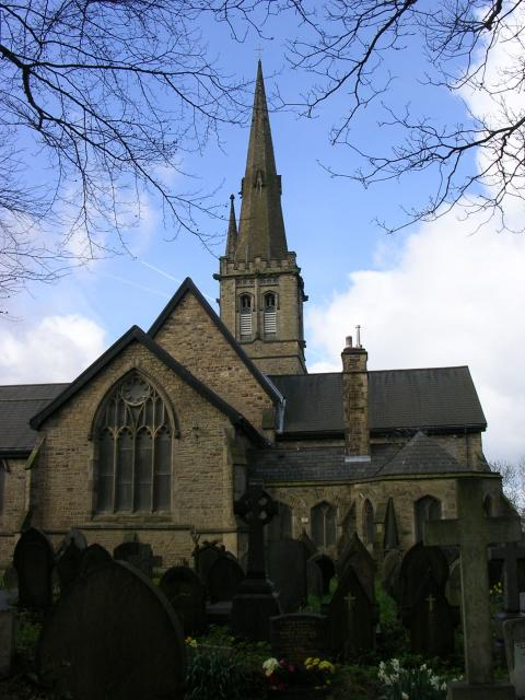 St Paul's Church, Kersal, Salford.