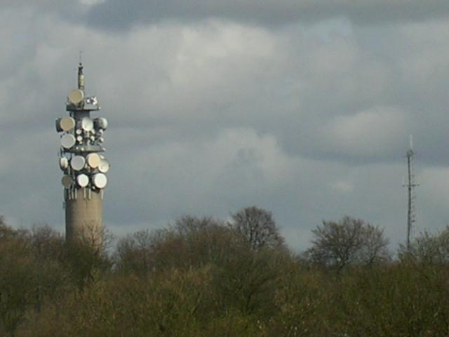 Communication Tower, Heaton Park, Manchester