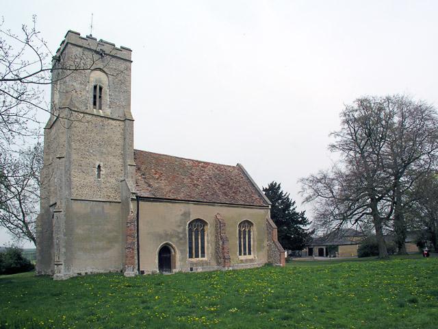 Hatley St George, St George