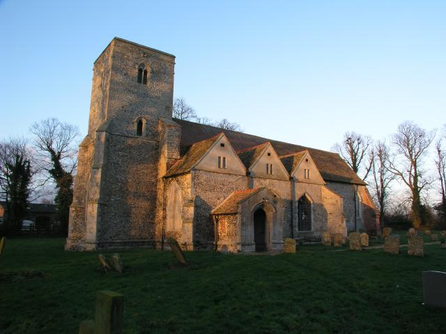 Burrough Green church