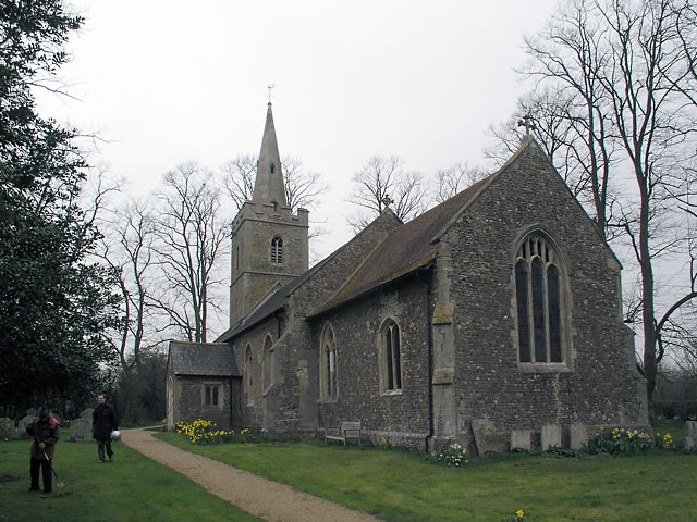 Hardwick, St Mary