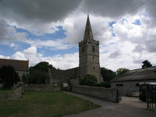 Ashleworth church