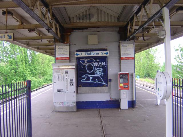 Nunhead railway station, London