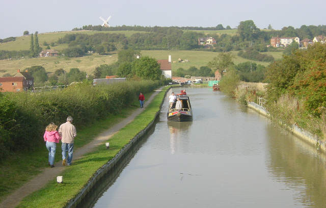 Napton Locks, Warwickshire