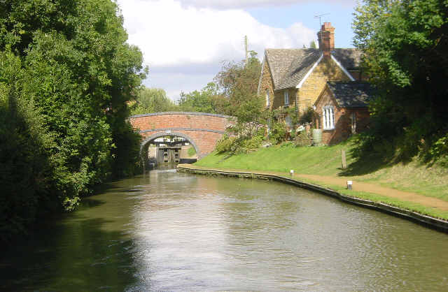 Southern Oxford Canal at Cropredy