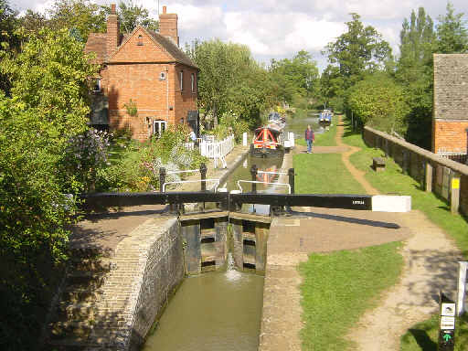 Cropredy Lock, Oxfordshire