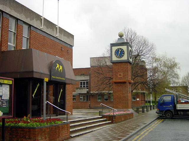 Old Town Hall clock, Sittingbourne