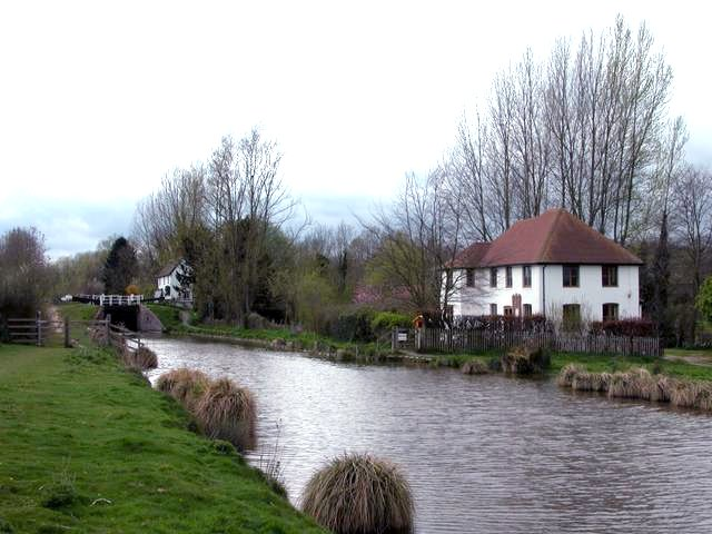 Cobblers Lock, on the Kennet and Avon canal.