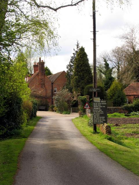 The Old Mill outside Aldermaston