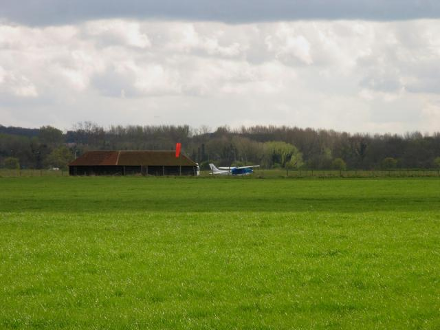 Closeup of the Airfield