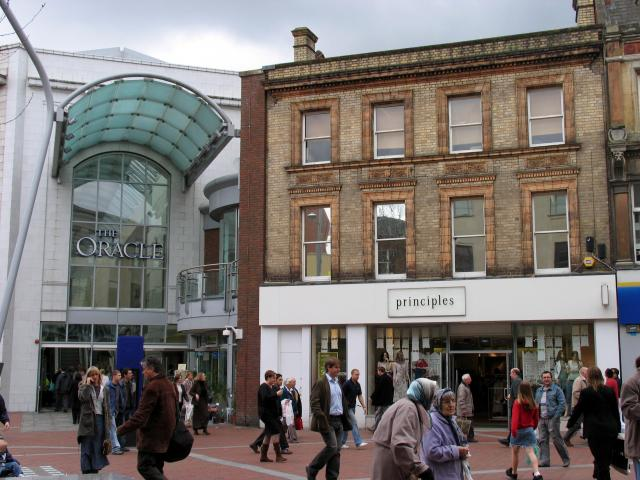 The Old and The New: Oracle Shopping Centre