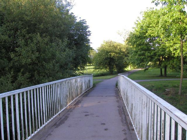Bridge over Whiteknights Lake