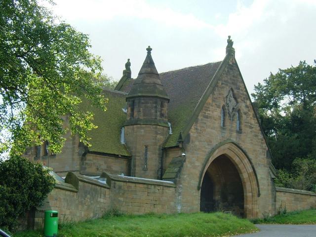 Gatehouse to Merevale Estate in Merevale Lane