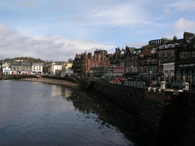 the N Promenade at Oban