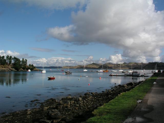Crinan Harbour looking NE