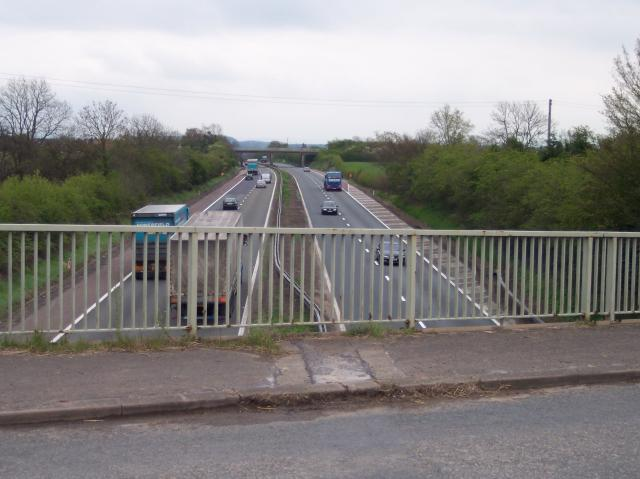 M50 and the Pendock Bridges